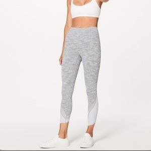 Lululemon Wunder Under scallop highrise grey 6